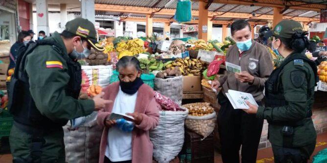 Gaula Nariño reforzó campaña de prevención contra la extorsión