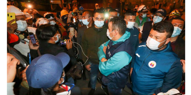Gobernador escuchará a manifestantes y primera línea en asamblea popular