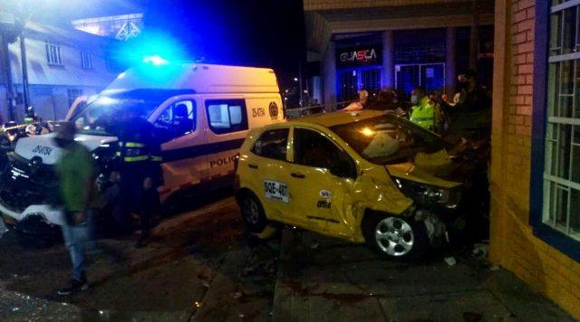 Grave accidente en el centro de Armenia dejó varios heridos