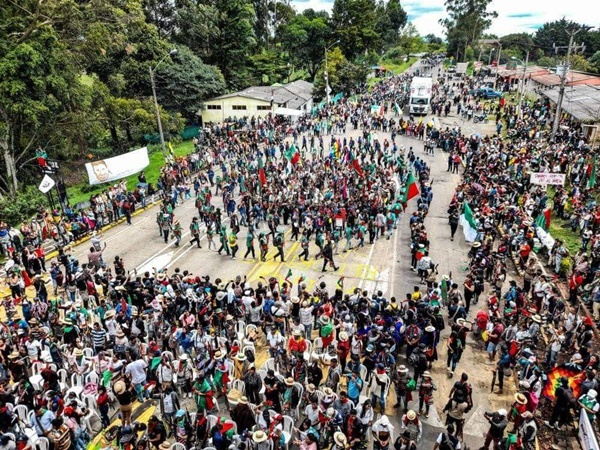 Inició el desbloqueo temporal de las vías del Cauca que permitirá abastecer a Nariño