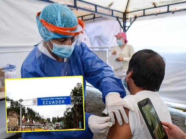 Inició vacunación masiva en frontera de Nariño, atenderán a toda la población mayor de 16 años