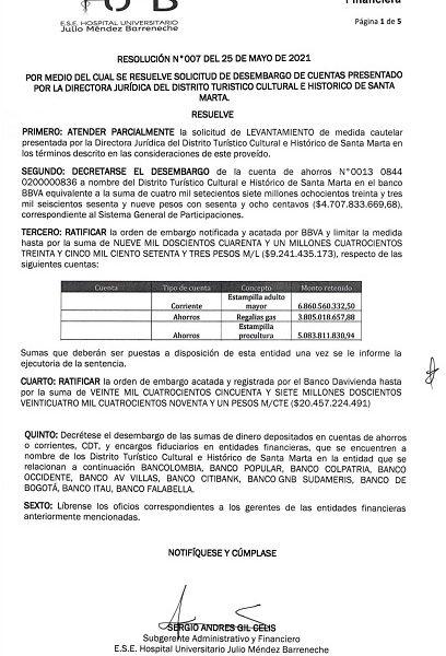 Interventor del Julio Méndez  Barreneche responde a las  denuncias de la alcaldesa