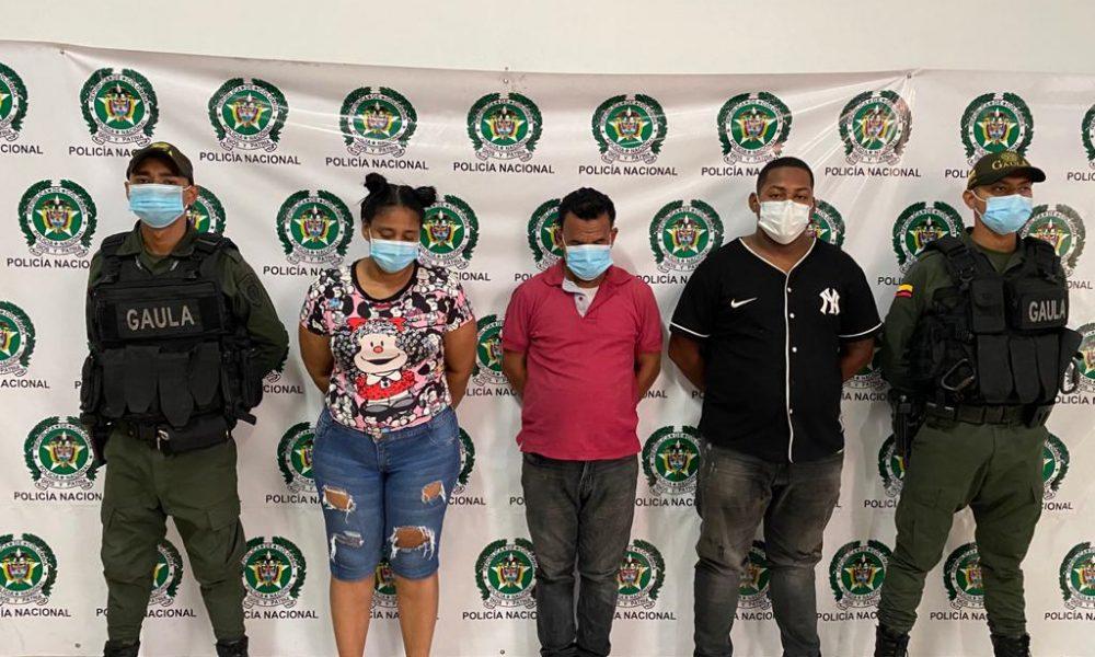 Judicializados cinco presuntos integrantes del grupo delincuencial los intimidadores, dedicados a la extorsión en Bucaramanga