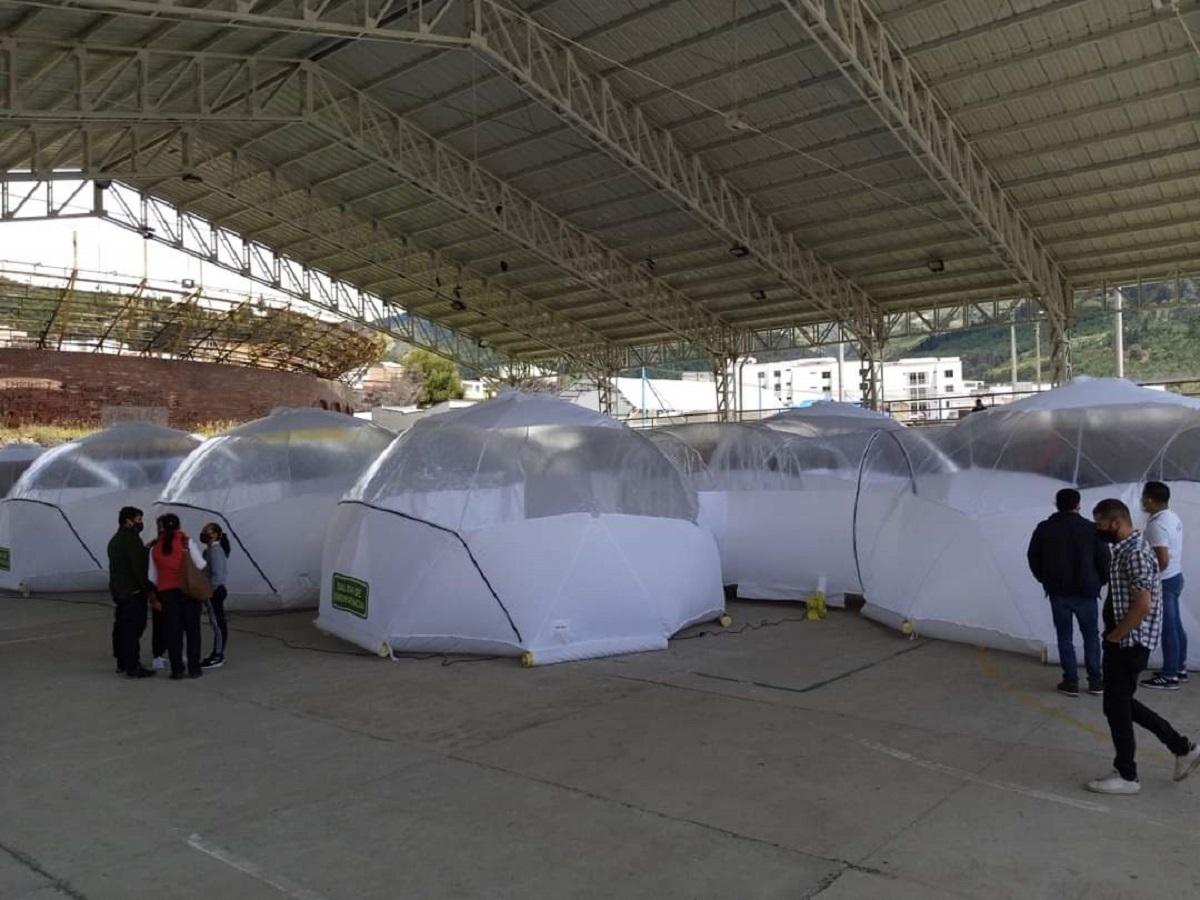 La Ciudad Mitrada Recibe La Última Unidad De Aislamiento Portátil Del Proyecto Mincienciatón