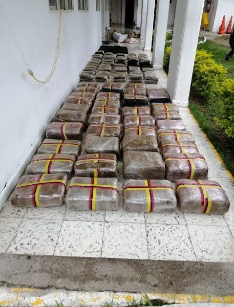 La Fiscalía logró legalización de la incautación de más de 280 kilos de marihuana hallados dentro de en un vehículo abandonado