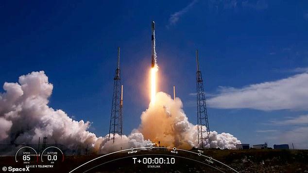 Rastrearon datos de infrasonidos de 1.001 lanzamientos de cohetes, identificando sonidos distintivos de siete tipos de cohetes, incluido el transbordador espacial Falcon 9 (en la foto) y Soyuz.