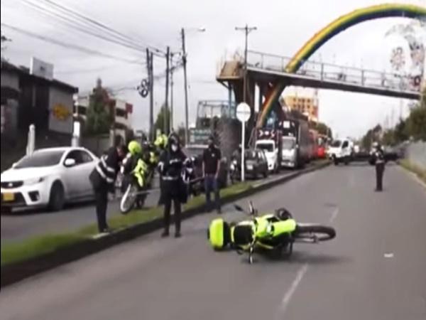 Murió el peatón atropellado en la vía Panamericana por una motocicleta de la Policía