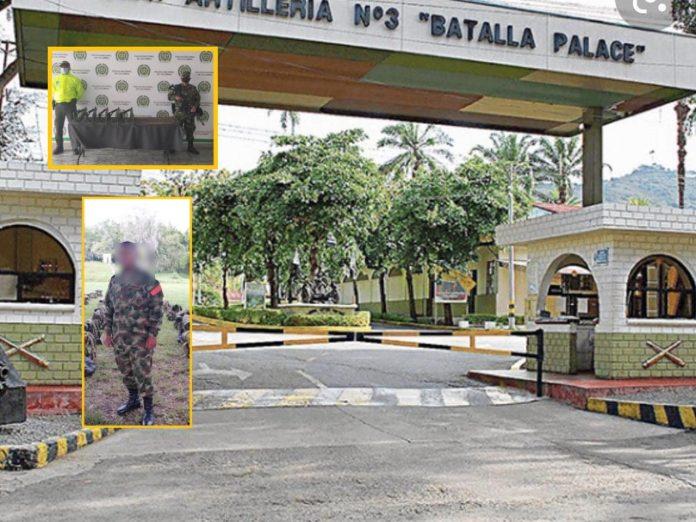 """""""No se conocen razones del hurto"""", en Cali capturaron a soldado que se 'voló' con cinco fusiles del batallón en Buga"""