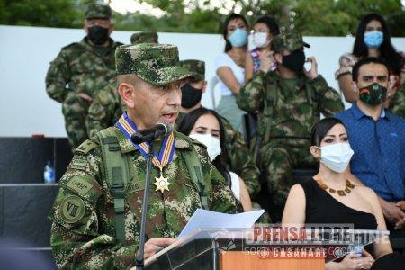 Nuevo comandante en la Décima Sexta Brigada del Ejército