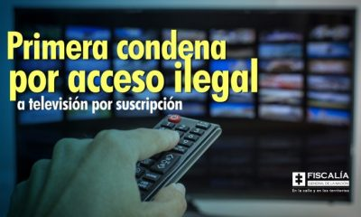 Primera condena por acceso ilegal a televisión por suscripción