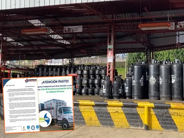 Restablecerán gradualmente la distribución de gas en Nariño