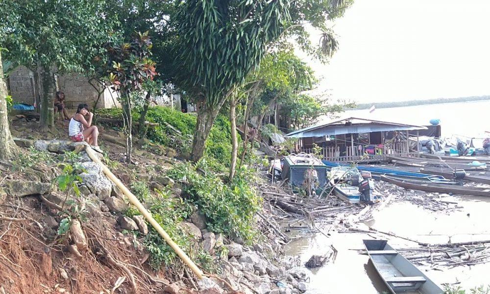 Río Guaviare ha socavado más de 100 metros en el barrio El Centro