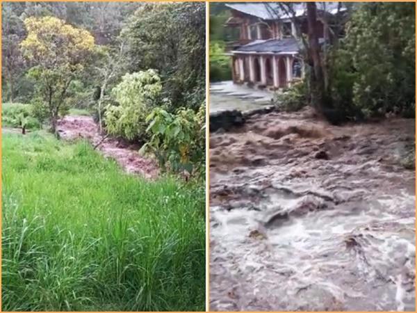 Se desbordaron dos ríos en La Florida y hay temor por posibles estragos