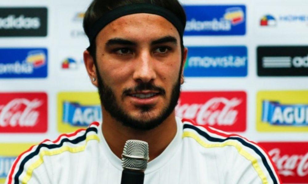 Sebastián Pérez y su felicidad al volver a ser parte de la Selección Colombia después de 5 años