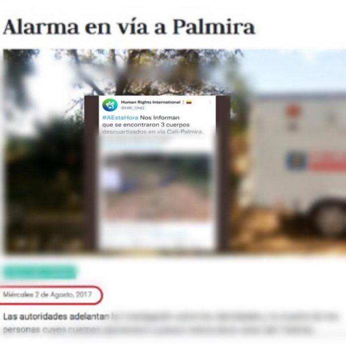 Palmira Valle del Cauca fake news