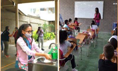 Valle: ante llamado de las autoridades estudiantes mañana volverán a clases con alternancia