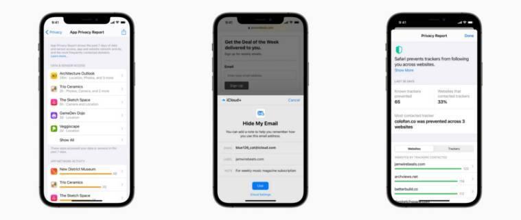 Apple WWDC 2021, retransmisión privada de Apple, VPN de Apple, retransmisión privada de Apple vs VPN, Apple iOS 15, privacidad de iOS 15, funciones de iOS 15, informe de la aplicación iOS 15, iCloud Plus, servicio iCloud Plus