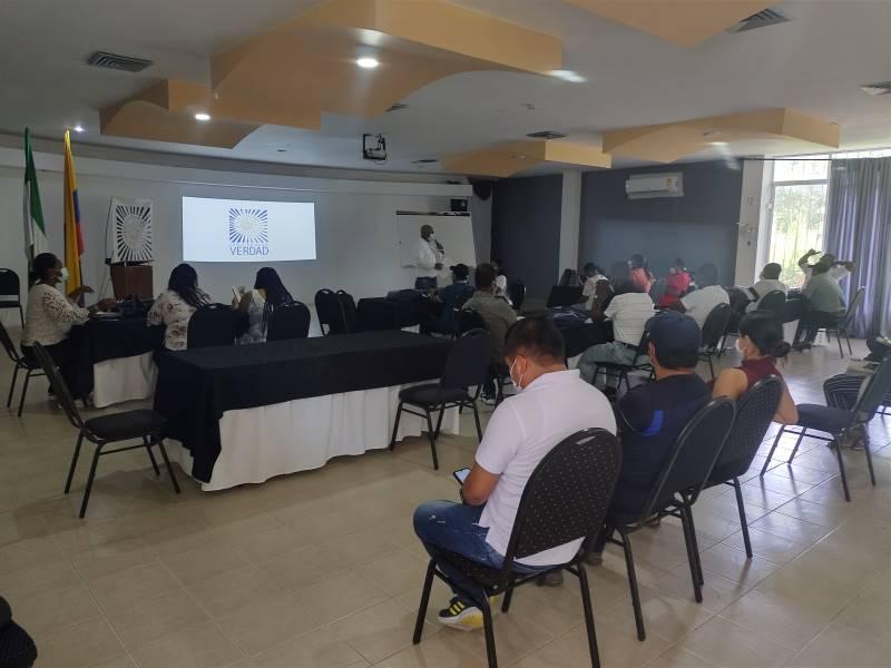Docentes de la Costa Pacífico Nariño dialogaron con la Comisión de la Verdad