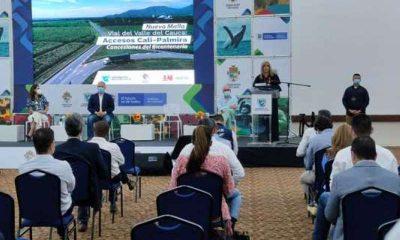 Gobierno nacional ratifica su compromiso con la culminación de la vía Buga-Buenaventura y el proyecto 4G Mulaló-Loboguerrero