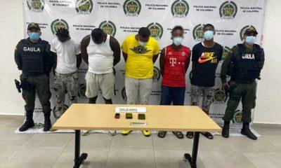 Capturan a cinco integrantes de La Local mientras extorsionaban a comerciantes en Buenaventura