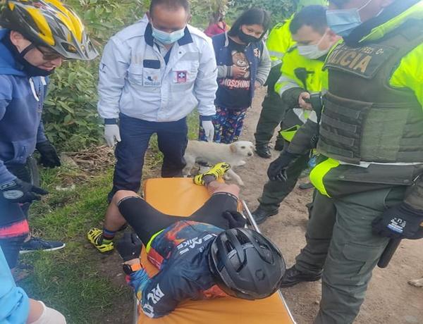 ¡El colmo de la inseguridad! balearon a ciclista en vía Pasto- Obonuco