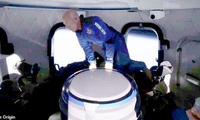 ¡Jeff Bezos NO es un astronauta! La FAA cambia las reglas sobre cómo otorga alas a los astronautas