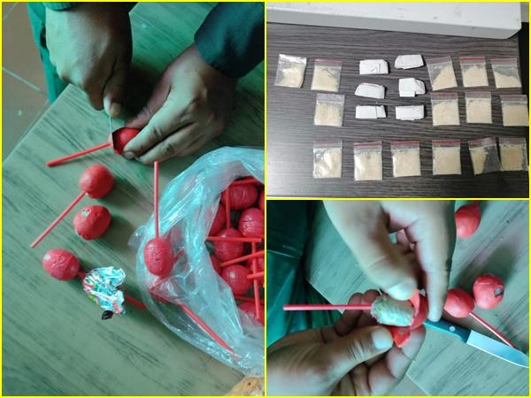 Bombones impregnados de bazuco, la modalidad de venta de droga en Pasto