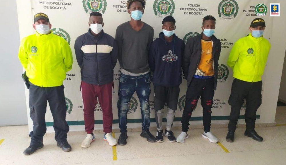 A la cárcel cuatro presuntos integrantes del grupo delincuencial Quirón en el sur de Bogotá