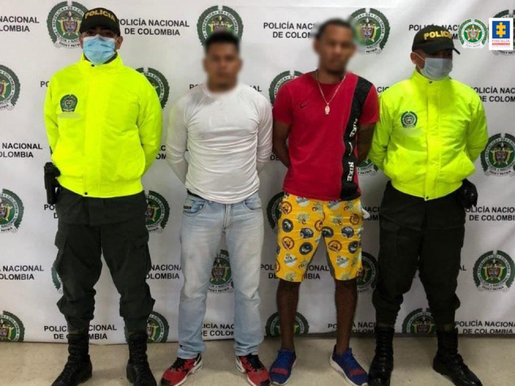 A la cárcel dos hombres que habrían asesinado a una joven en medio de un hurto en el barrio San Fernando de Cartagena