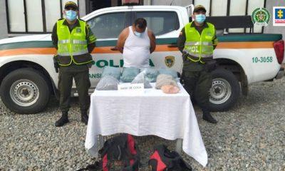 A la cárcel presunto responsable de transportar estupefacientes en un vehículo de servicio público - Noticias de Colombia