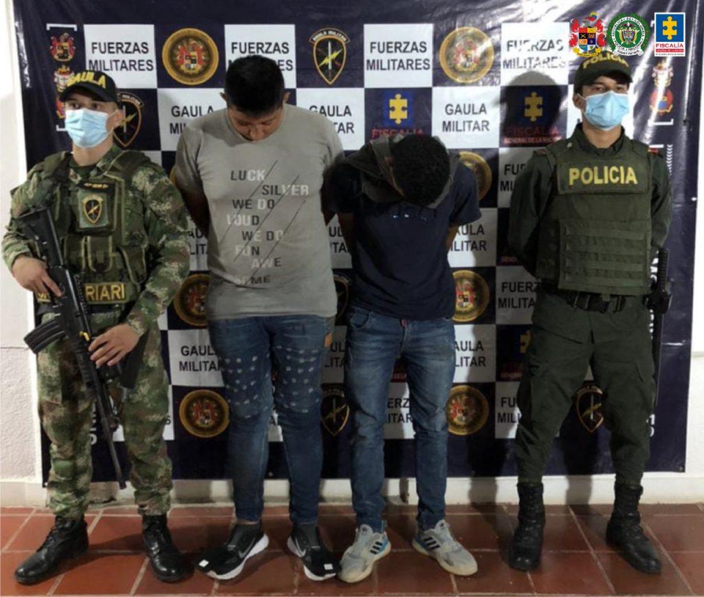 A prisión fueron enviados dos hombres, presuntamente, implicados en delitos de secuestro y hurto en Meta - Noticias de Colombia