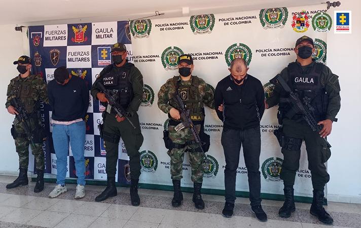 A prisión fueron enviados dos hombres, presuntamente, responsables del secuestro de una familia - Noticias de Colombia