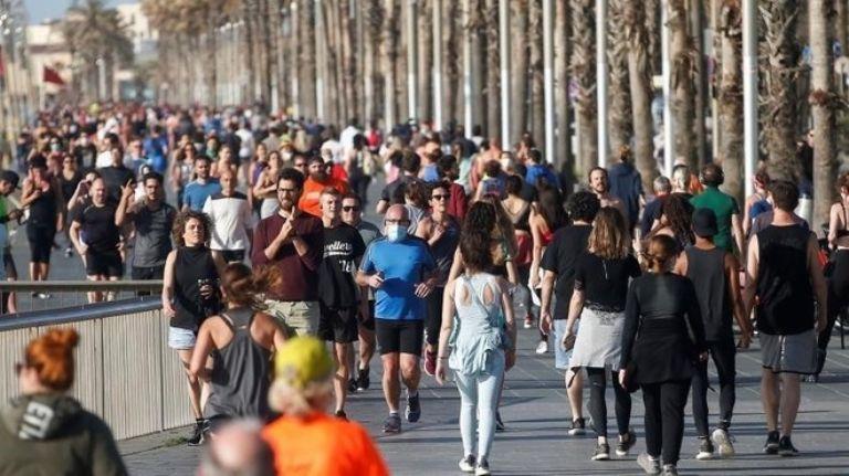 Aumento de casos positivos en ESPAÑA