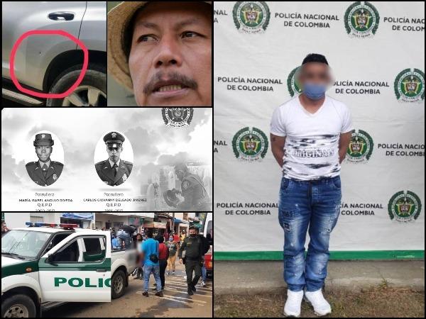 Alias 'Rambo' también sería el responsable de la emboscada y asesinato de policías en Santander de Quilichao