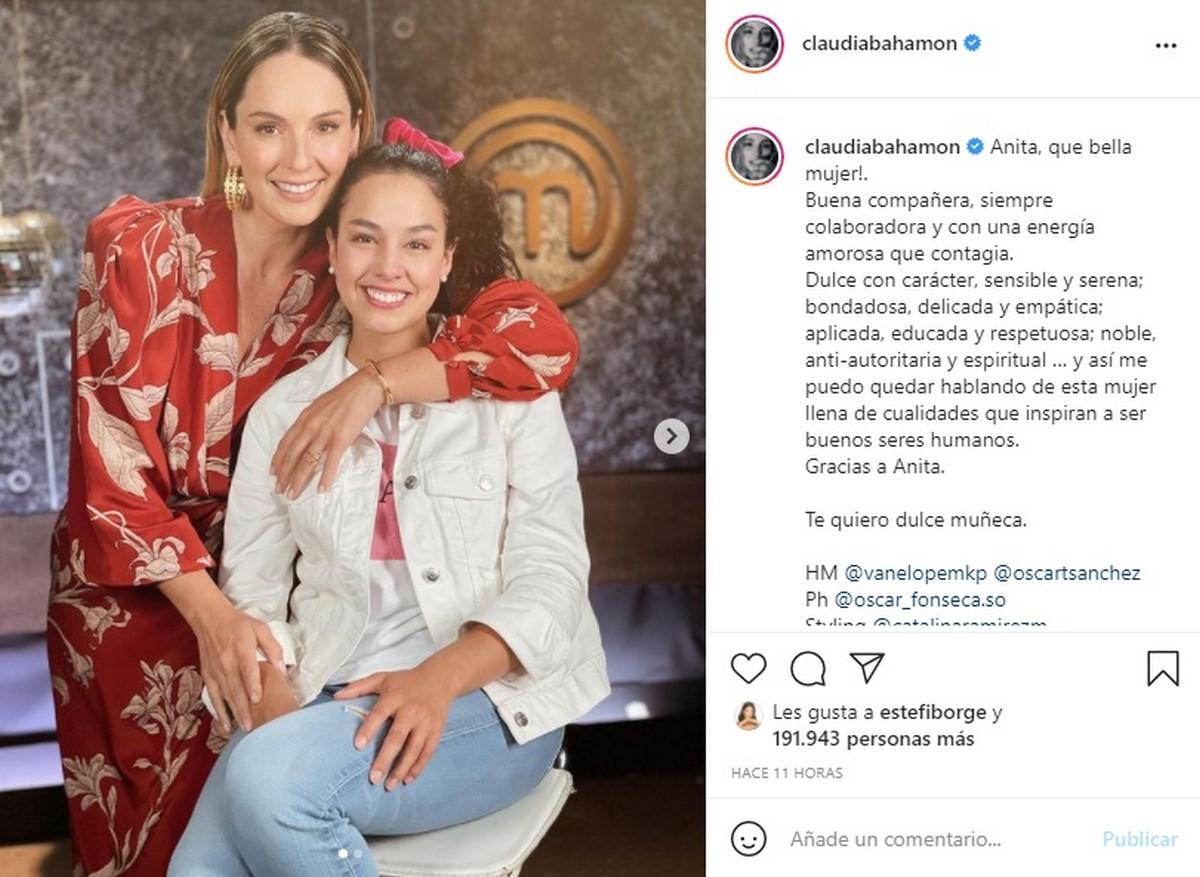 Ana Estupiñán fue eliminada de MasterChef