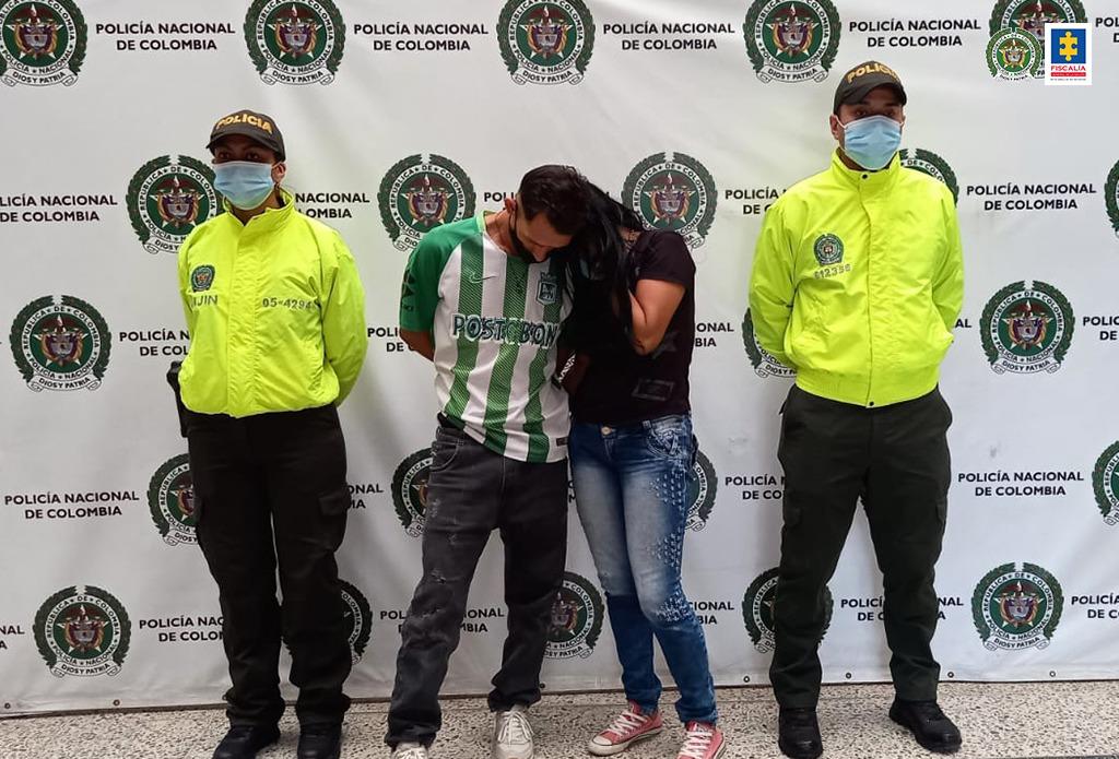 Asegurada pareja investigada por el homicidio de una mujer en Medellín - Noticias de Colombia