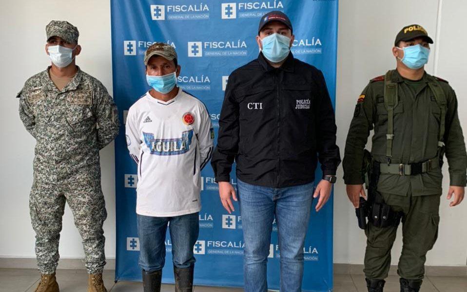 Asegurado presunto responsable del homicidio de un reincorporado y de un civil en Solano (Caquetá)