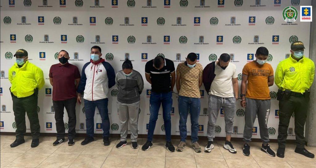 Asegurados 7 Policías investigados por peculado por apropiación
