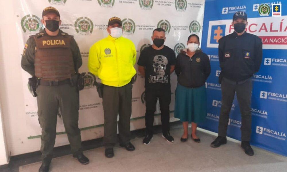Asegurados esposos que habrían asesinado a una mujer en La Argentina (Huila)