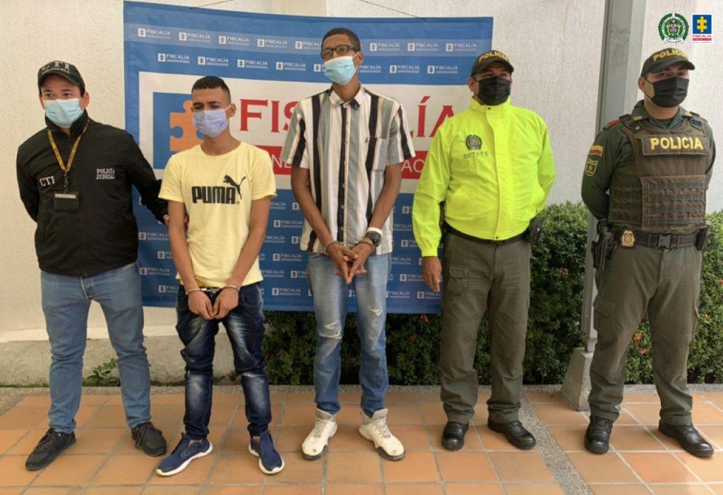 Asegurados presuntos coautores del homicidio de un joven en medio de un atraco en Neiva (Huila)