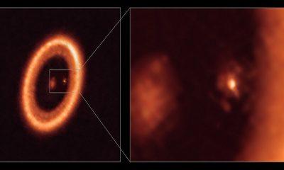 Astrónomos detectan formación lunar sobre un exoplaneta a 370 años luz