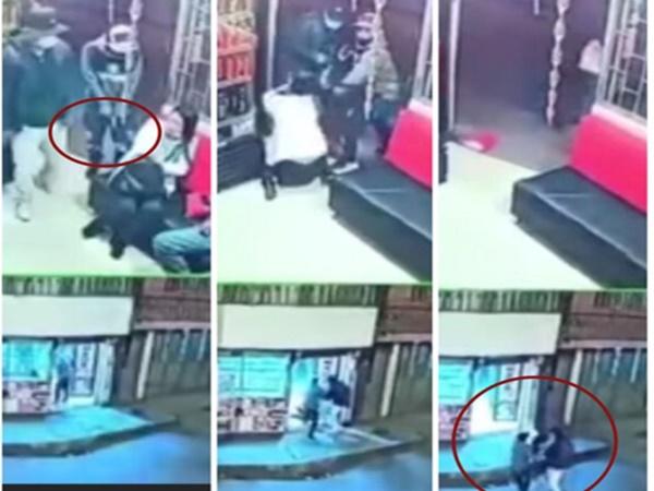 Atraco en Pasto: la mujer terminó arrastrada por los dos ladrones