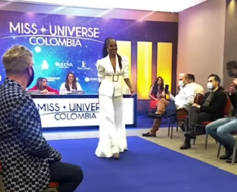Buenaventura participó en las primeras pruebas de Miss Universe 2021 con la presencia de Mathilde Lina López – Noticias Al Punto Buenaventura