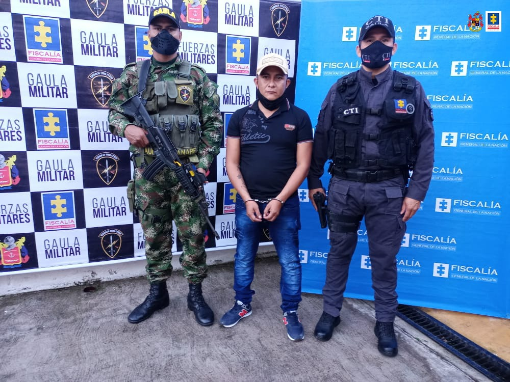 CTI frustró extorsión a ganadero por 6 millones de pesos en Pore (Casanare) y capturó al presunto responsable