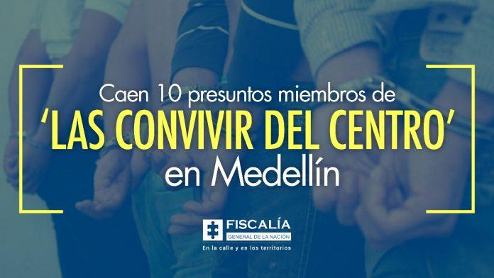 Caen 10 presuntos miembros de 'las Convivir del Centro' en Medellín