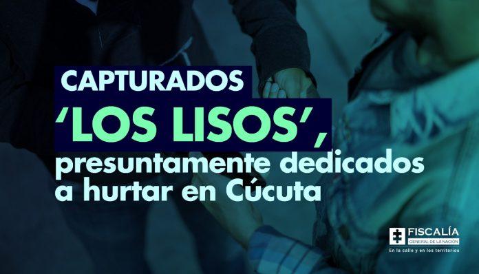 Capturados 'Los Lisos', presuntamente dedicados a hurtar en Cúcuta