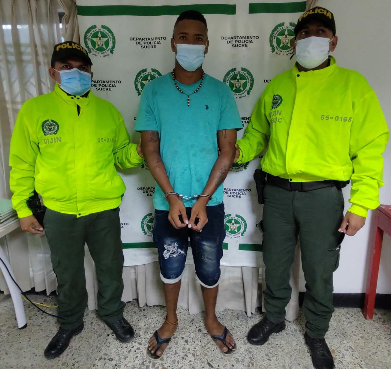 Capturan a presunto asesino de joven en pelea de pandillas en Tolu