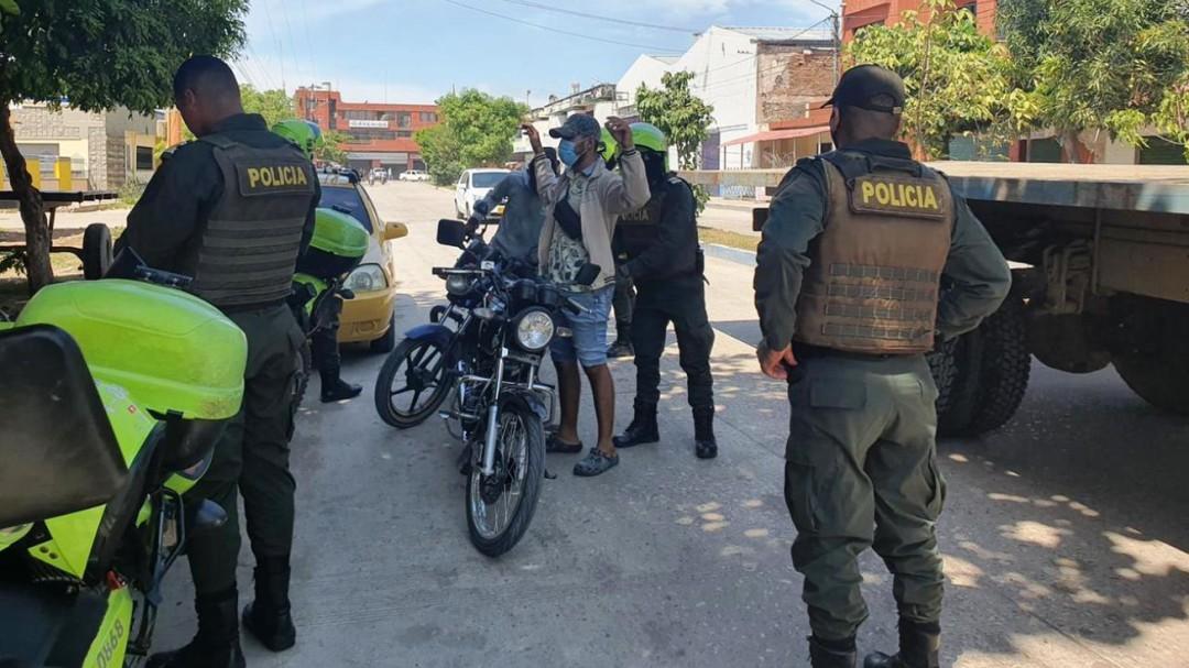 Comando de Policía Bolívar establece comando situacional, en Magangué