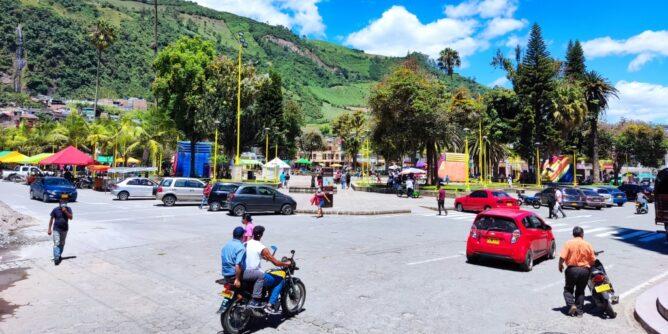 Comienza proceso de semipeatonalización del centro de Sandoná - Noticias de Colombia