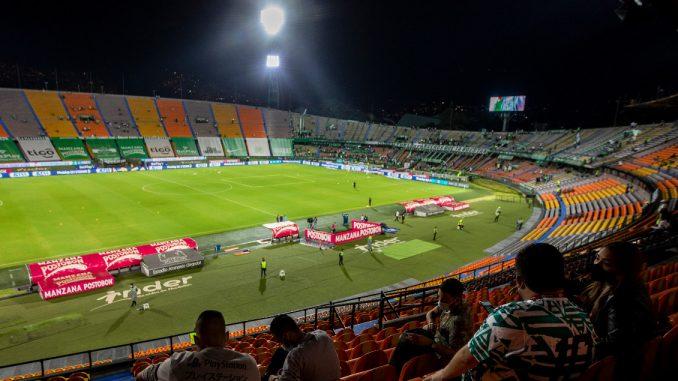 Como en Bogotá, en Medellín también podrían habilitar un aforo del 50 % para ir a ver fútbol; esta es la razón por la que no lo han hecho